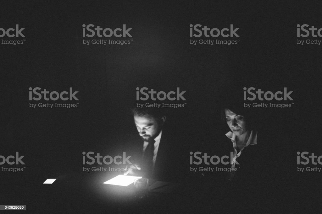 Business Meeting in Istanbul stock photo
