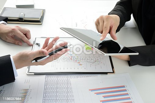 istock Business meeting in office 1156037664