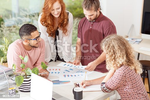 842214626istockphoto Business meeting in the office 902813814