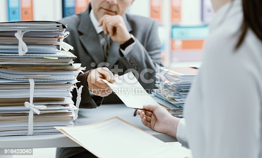 istock Business meeting in the office 916423040