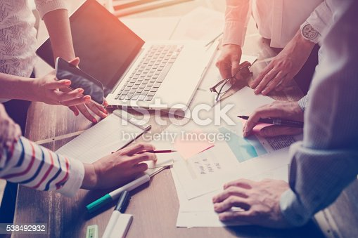 istock Business meeting. Marketing strategy 538492932