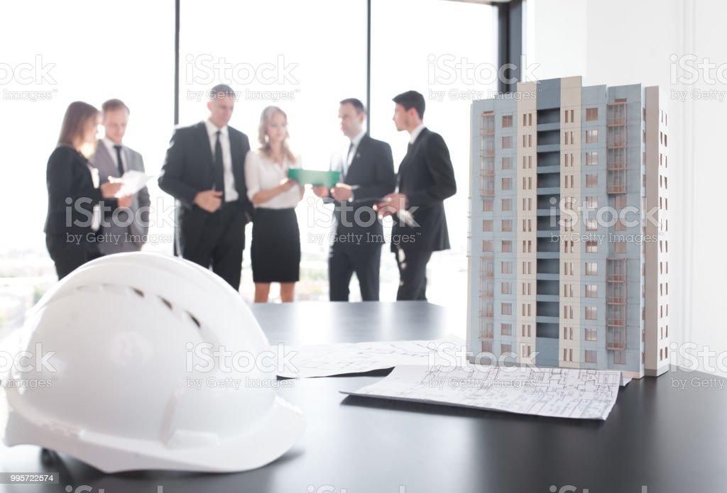 Business-Meeting von Architekten und Investoren – Foto