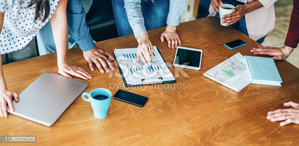 istock Business meeting 1136002525