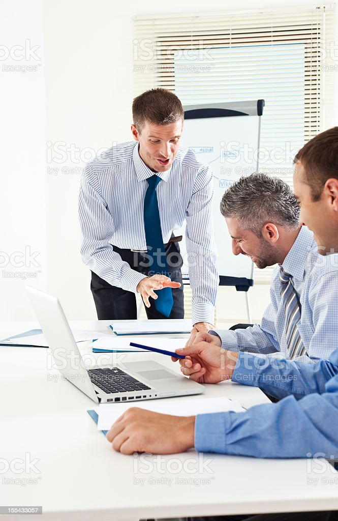 Business meeting  Adult Stock Photo