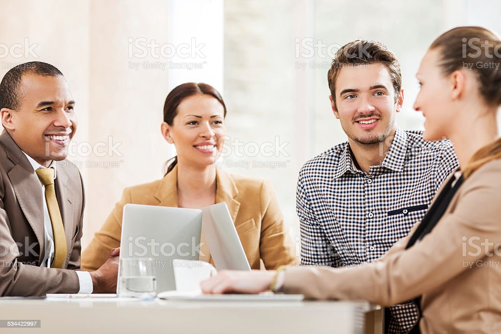Business meeting. stock photo