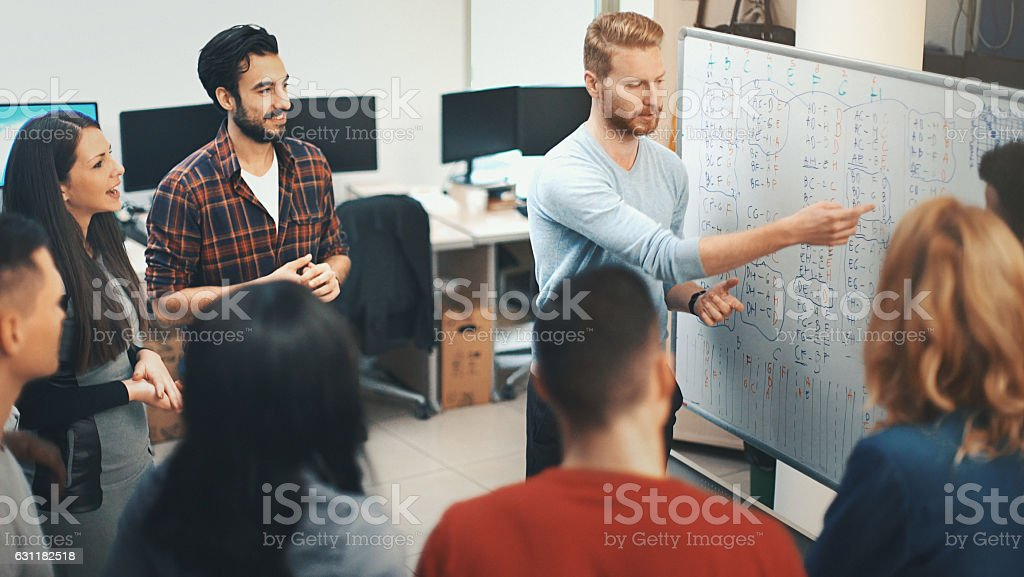 Business meeting, stock photo