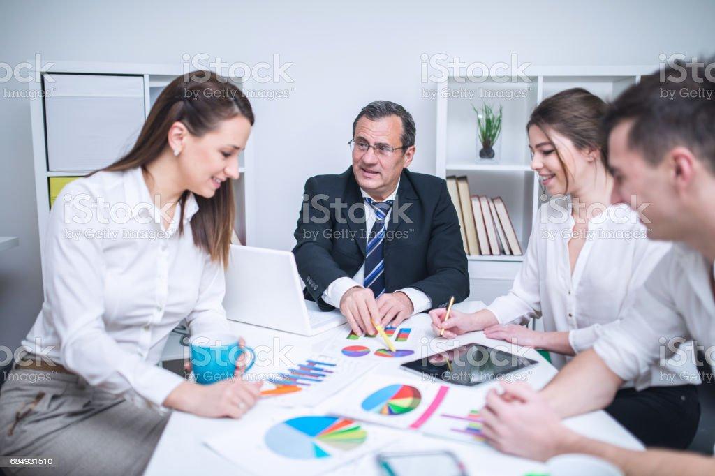 Business-Tagung Lizenzfreies stock-foto