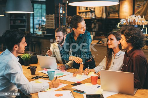istock Business Meeting 816239608