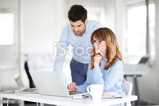 istock Business meeting 888158714