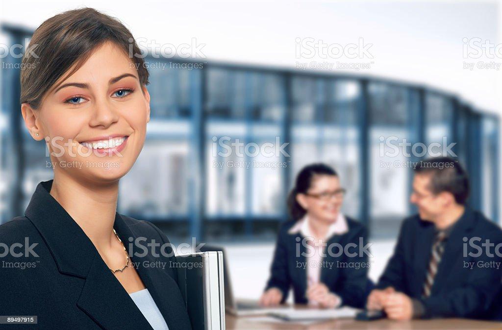 Business meeting royalty free stockfoto
