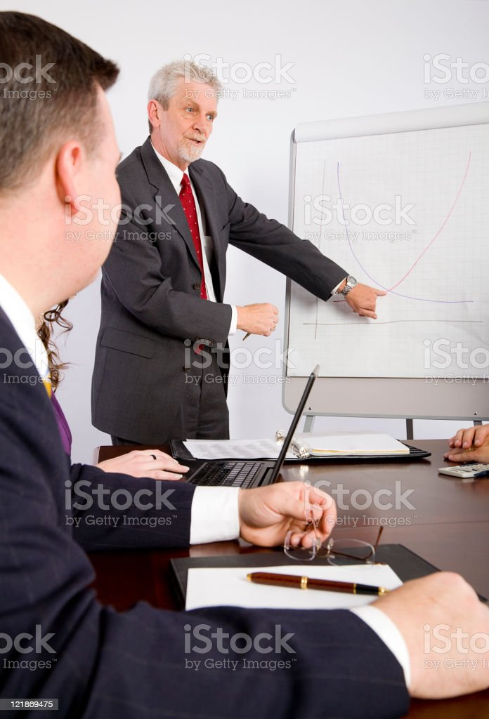 Business Meeting Presentation royalty-free stock photo