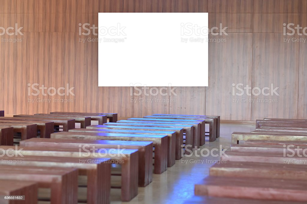 Business meeting Seminar room conference stock photo