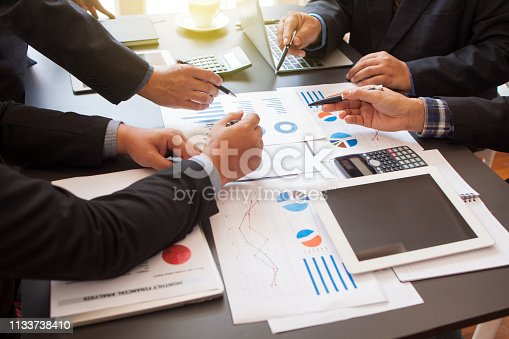 istock Business meetings and consultations. 1133738410