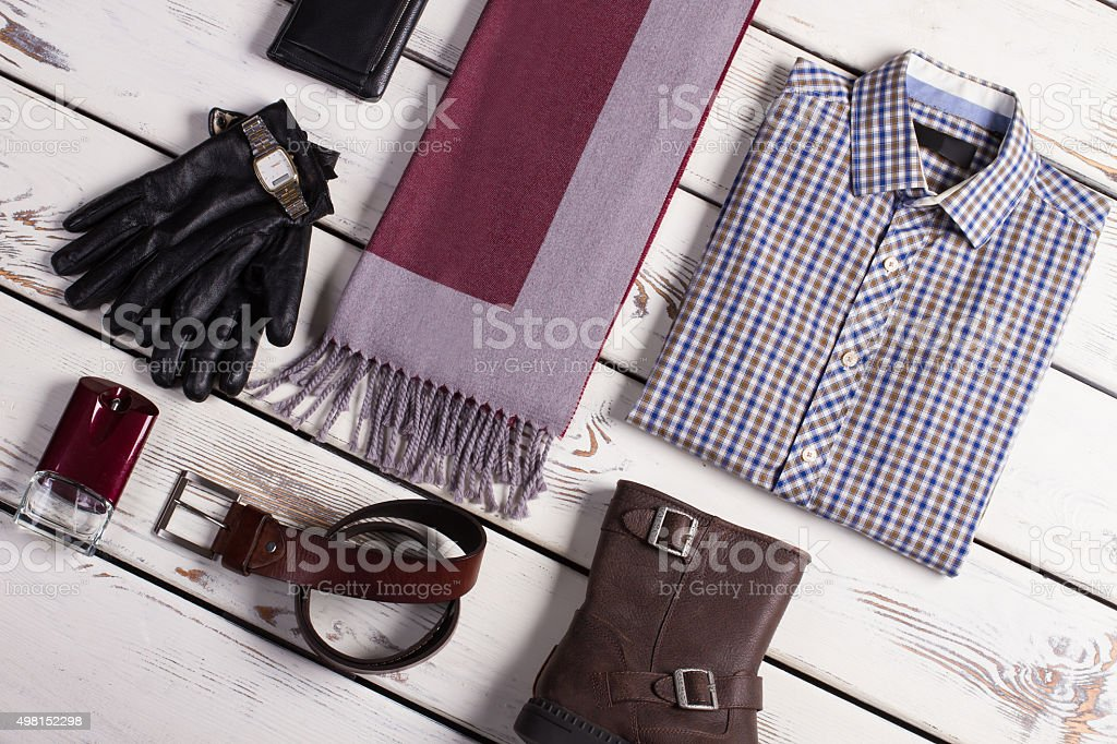 Business menswear. stock photo