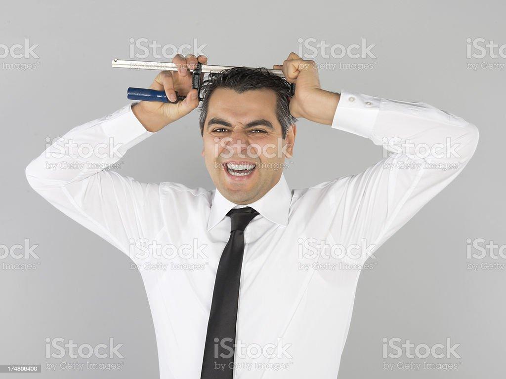 business mimic royalty-free stock photo