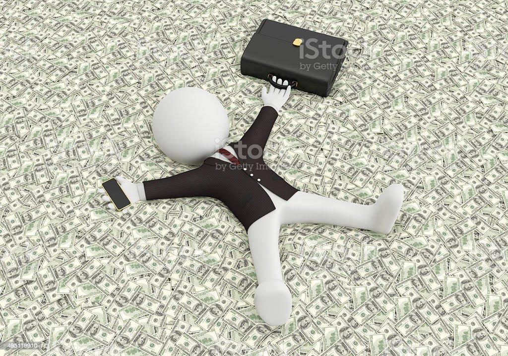 business money stock photo