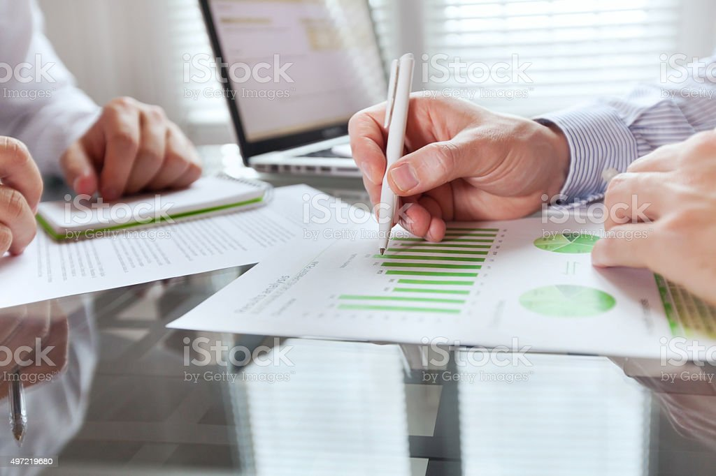 business monitoring and big data stock photo