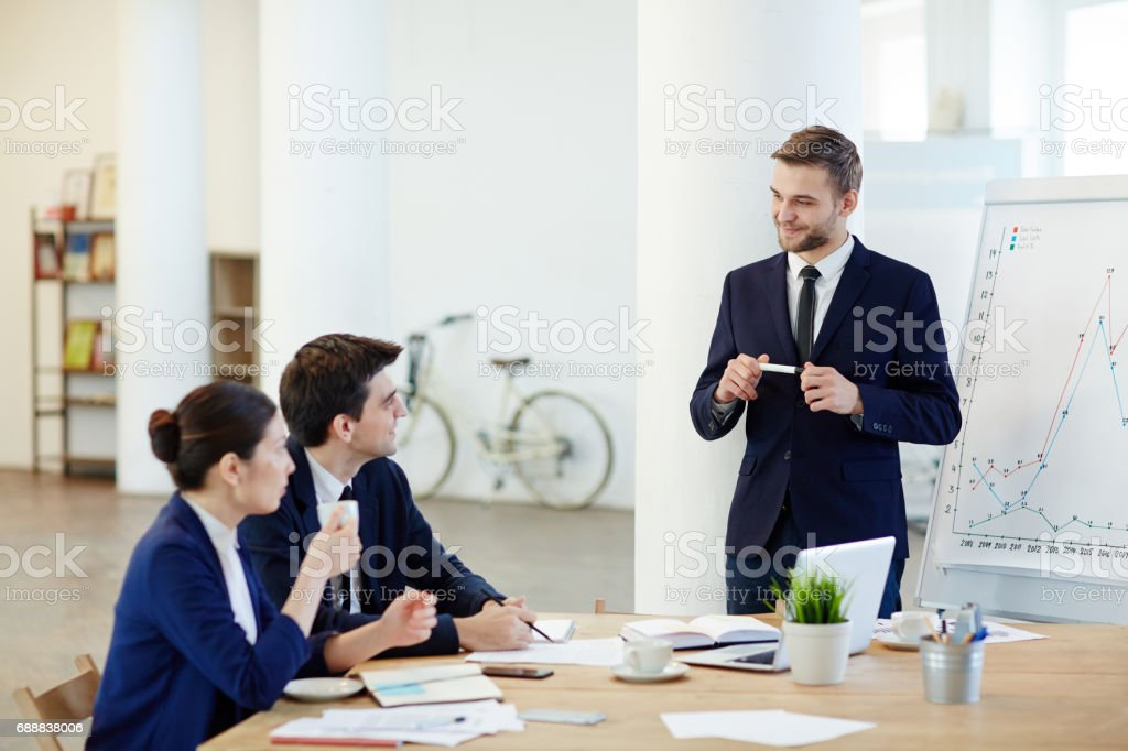 Business motivation stock photo