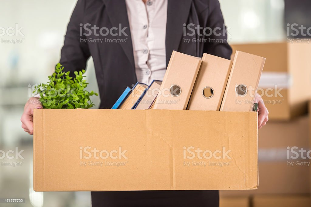 Business move stock photo