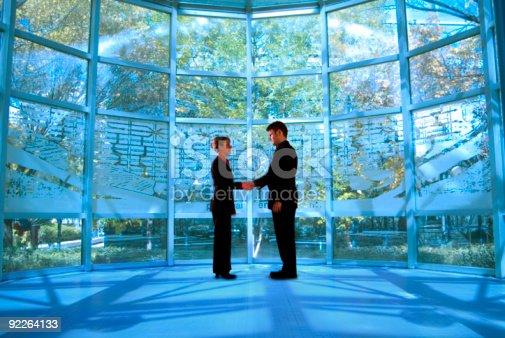 623122018 istock photo Business Negotiating Handshake 92264133