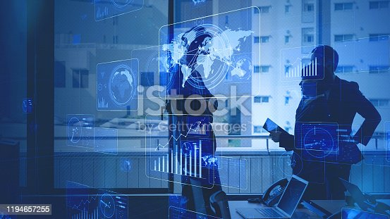 1140691204istockphoto Business network concept. Business meeting. Marketing. 1194657255