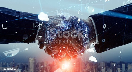 istock Business network concept. Business meeting. Marketing. 1204589807
