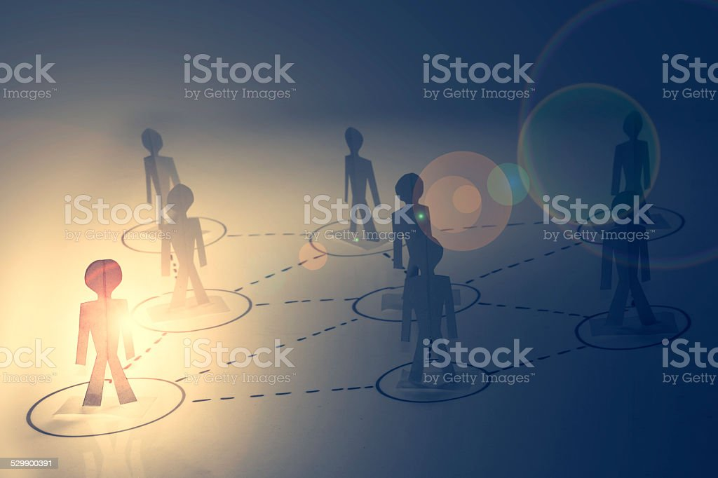 Business Network, Concept stock photo
