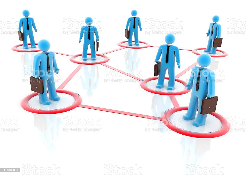 Business Network (8000x5688 px) royalty-free stock photo