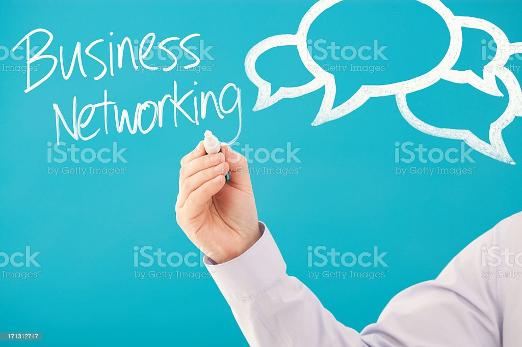 Business Networking royalty-free stock photo
