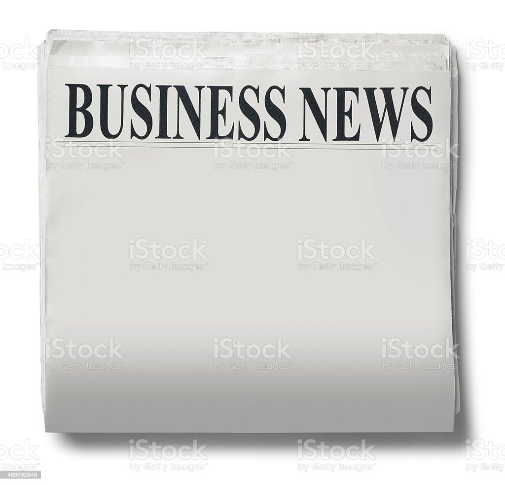 Business News royalty-free stock photo