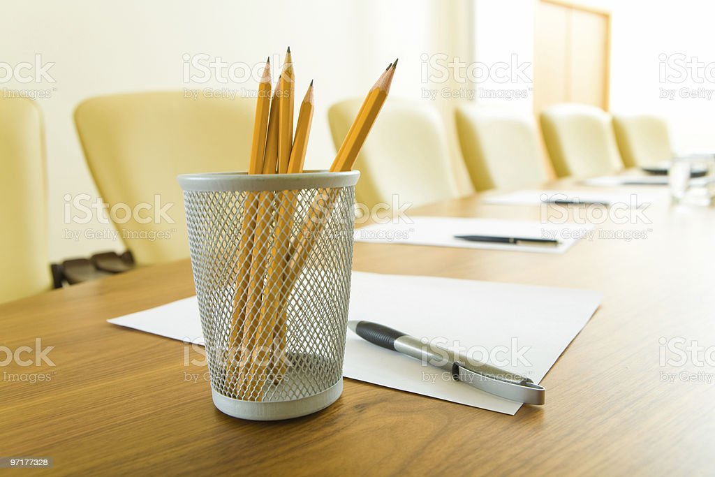 Business objects royalty-free stock photo