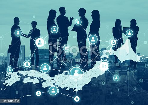 istock Business of Japan concept. 952984928