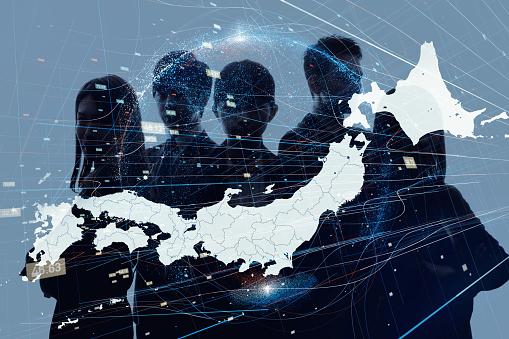 日本コンセプトのビジネス - つながりのストックフォトや画像を多数ご用意
