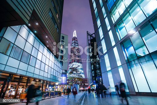 istock Business office building in London, England 507003990