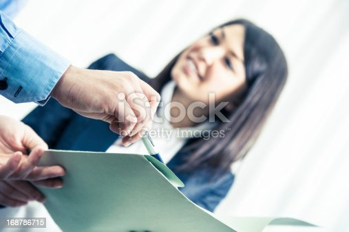 istock Business office teamwork 168786715