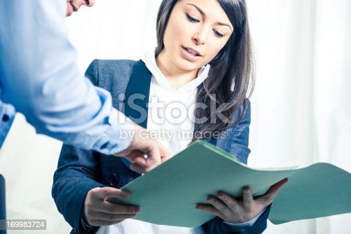 155279487 istock photo Business office teamwork 169983724