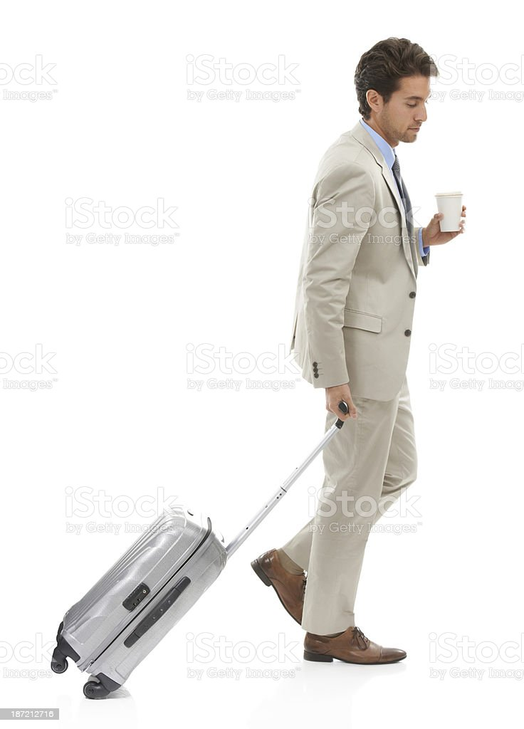 Business on the move royalty-free stock photo