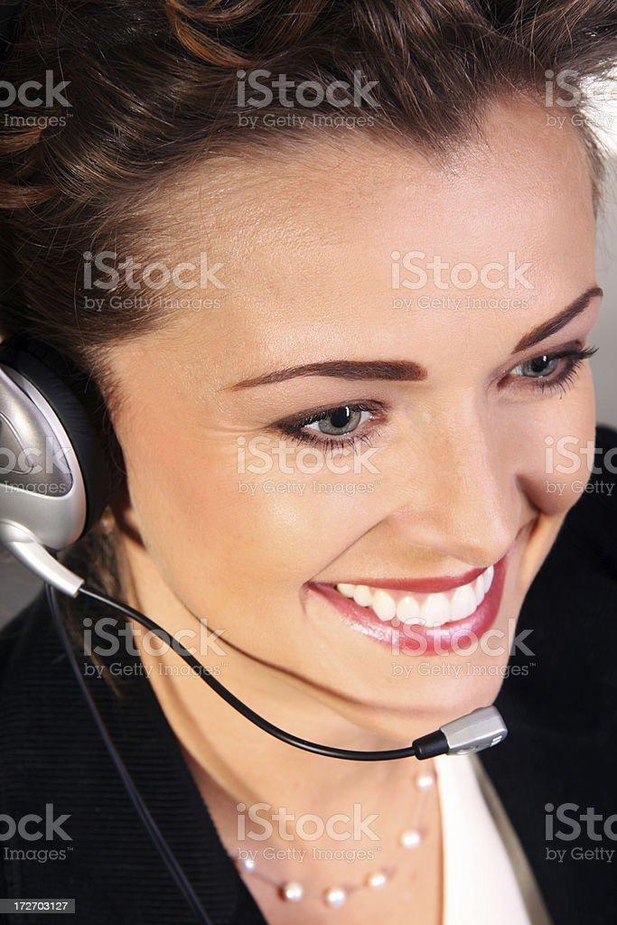 Business Operator - Close 1 royalty-free stock photo