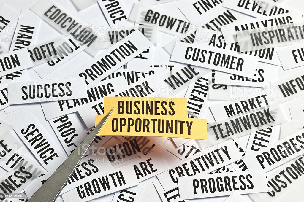 Business Opportunity Concept royalty-free stock photo