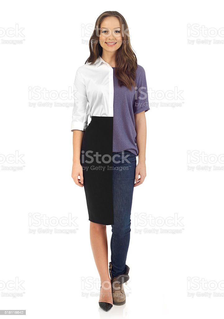 Business or casual? stock photo