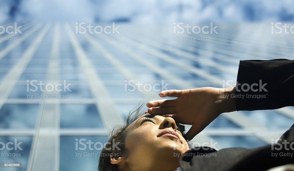 Business Outlook stock photo