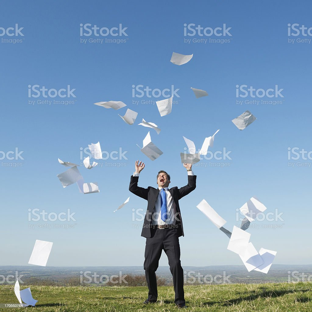 Business Overload stock photo