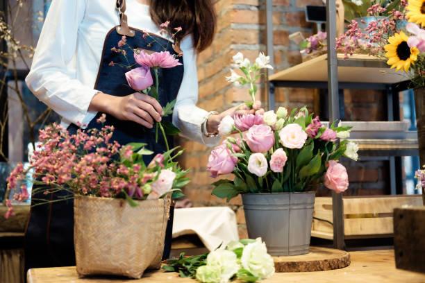 Blumengeschäft Geschäft Inhaber. – Foto