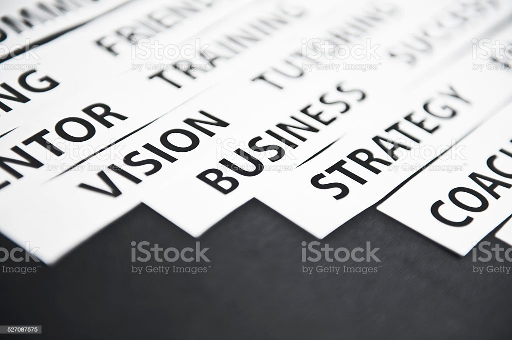 Business / Paper concept (Click for more) stock photo