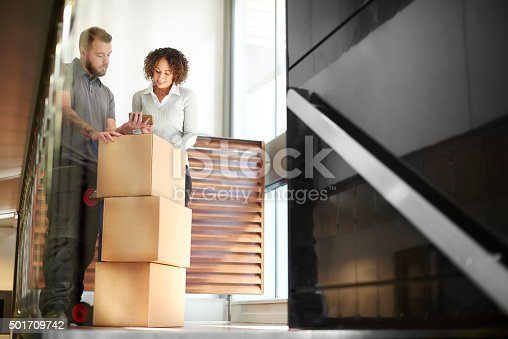 istock business parcel courier 501709742