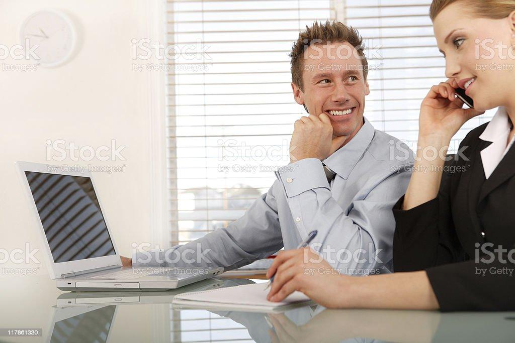 Business Partner royalty-free stock photo