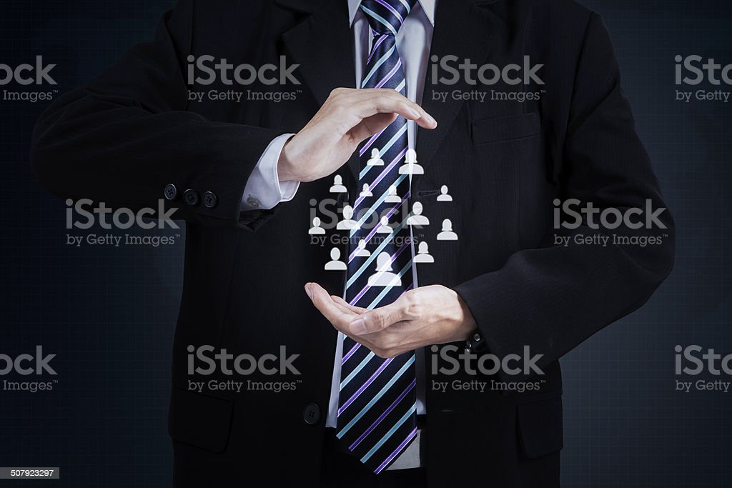 Business partner priority stock photo