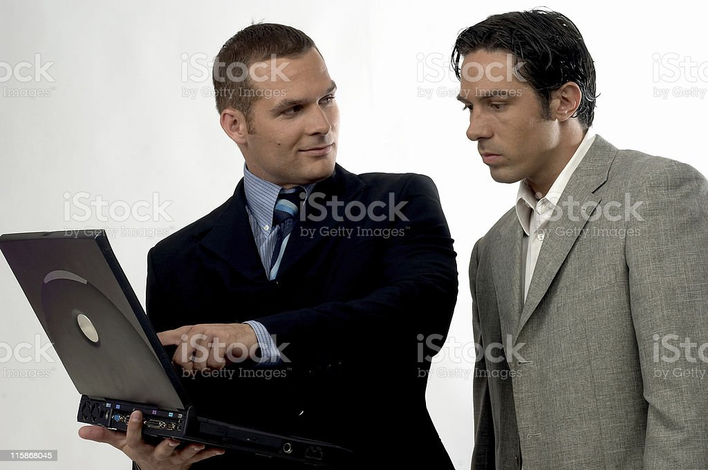 Business Partners in Meeting royalty-free stock photo