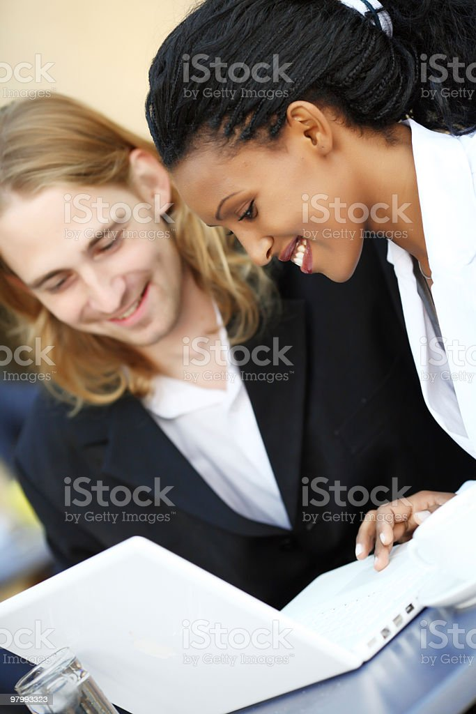 Business partners. royalty free stockfoto