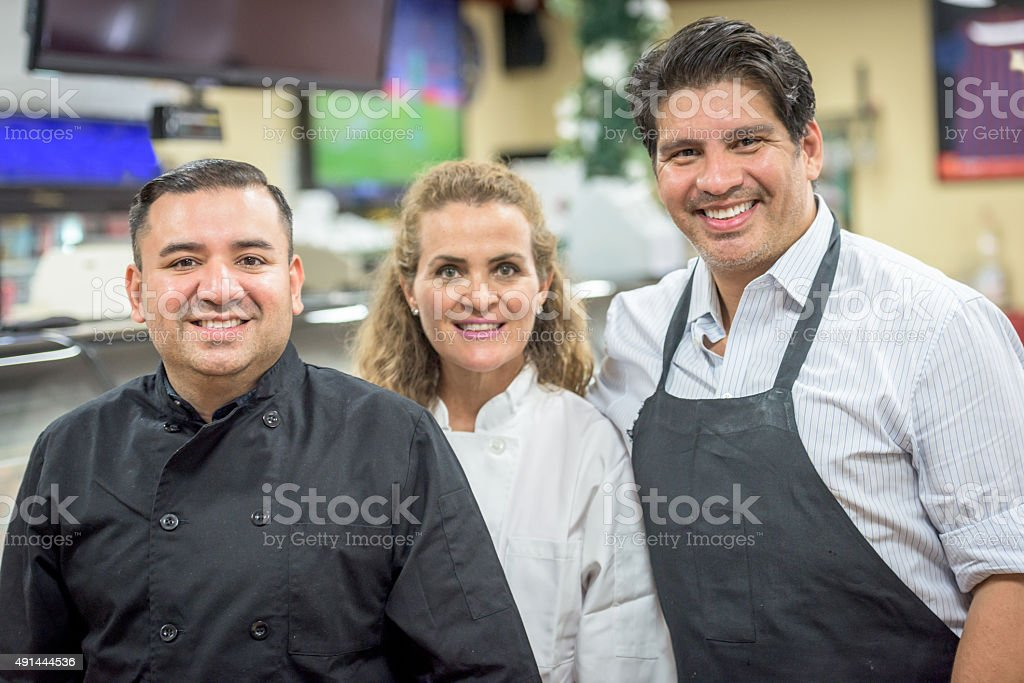 Business partners posing Smiling stock photo
